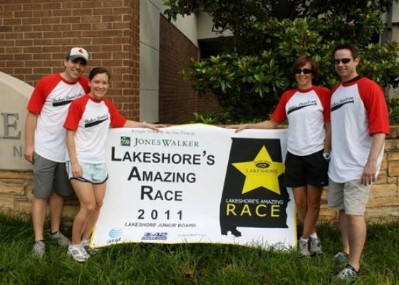 The Birmingham office of Baker Donelson participated in Lakeshore Foundation's Amazing Race in 2011. The Lakeshore Foundation promotes independence for the physically disabled and each task of the race was designed to simulate a particular disability for the participants.