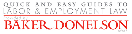 Quick and Easy Guide to Tennessee Labor & Employment Law - Click here