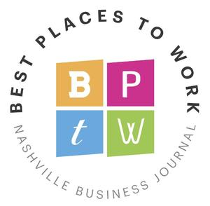 "Nashville Business Journal's ""Best Places to Work"""