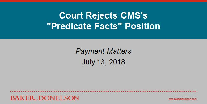Court Rejects CMS's