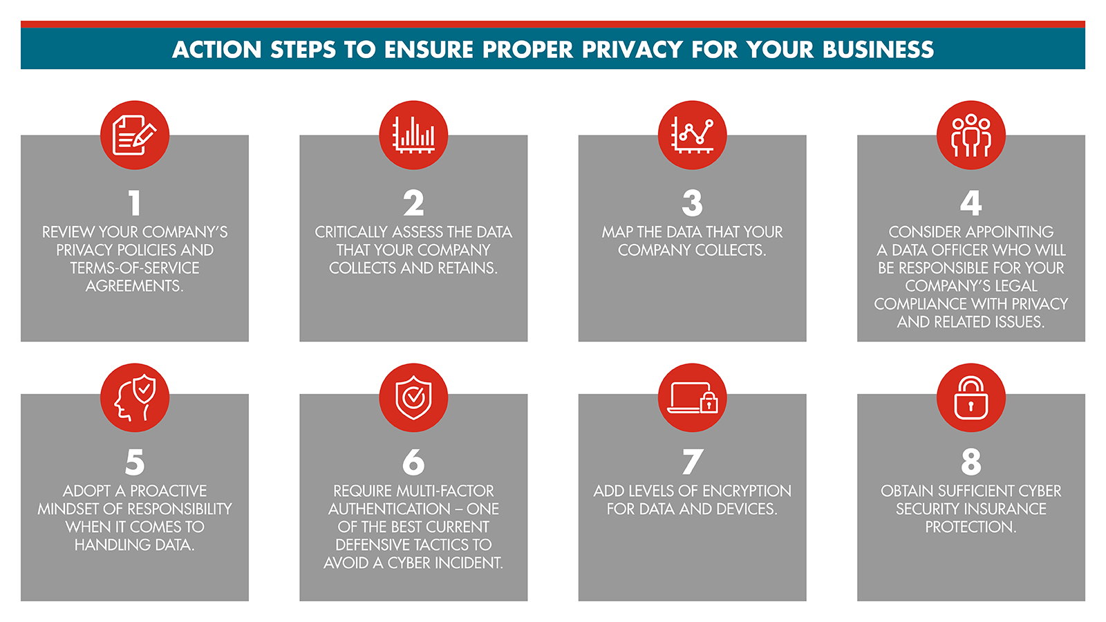 Infographic: Action Steps to Ensure Proper Privacy for Your Business